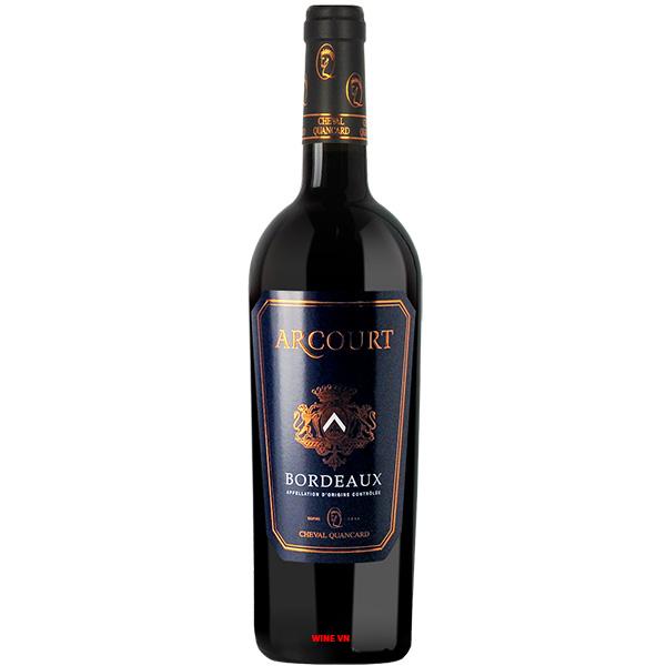 Rượu Vang Arcourt Bordeaux
