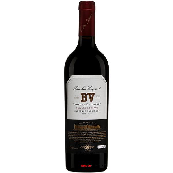 Rượu Vang BV Cabernet Sauvignon Georges De Latour