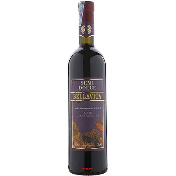 Rượu Vang Bellavita Semi Dolce