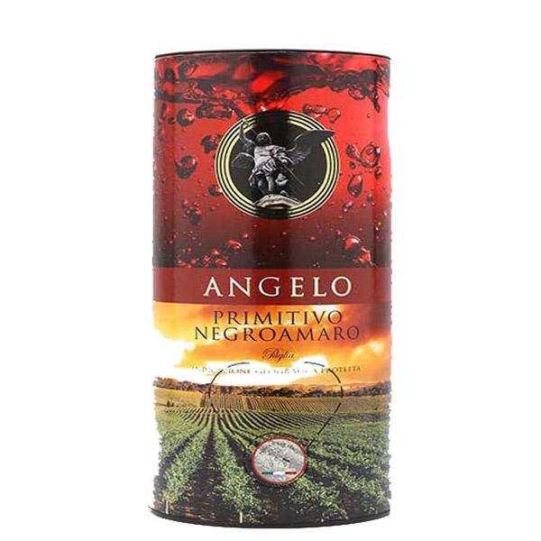 Rượu Vang Bịch Angelo Primitivo - Negroamaro