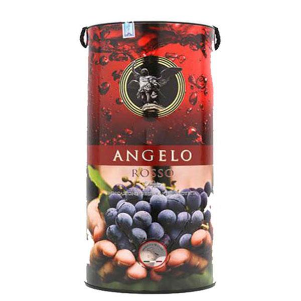 Rượu Vang Bịch Angelo Rosso Negroamaro