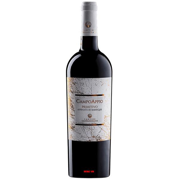 Rượu Vang Campo Appio Primitivo