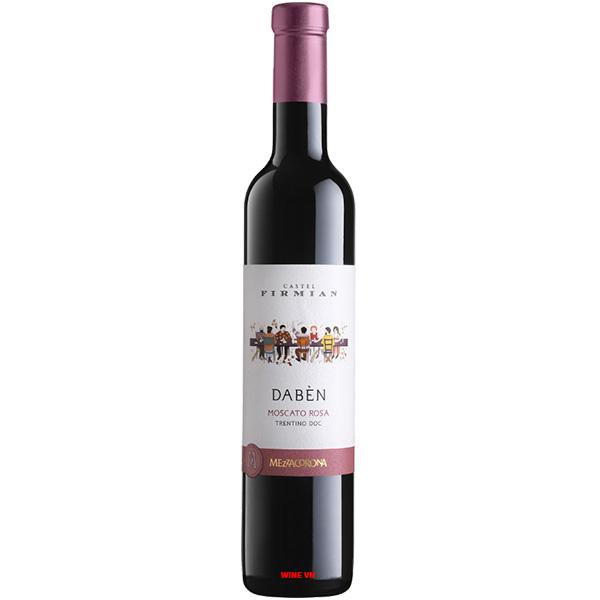 Rượu Vang Castel Firmian Daben Moscato Rosa
