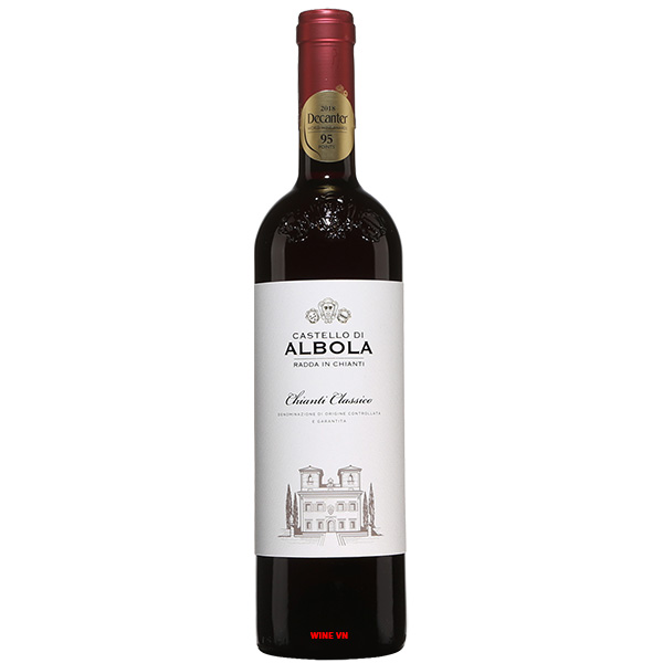 Rượu Vang Castello D'Albola Chianti Classico
