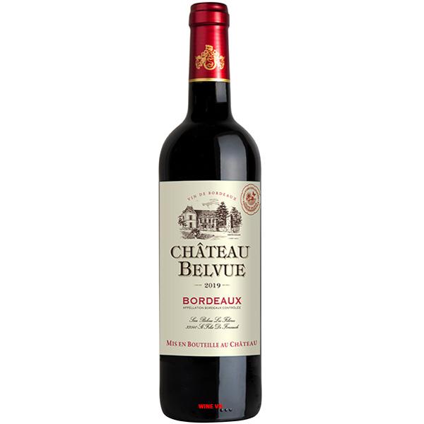 Rượu Vang Chateau Belvue Bordeaux