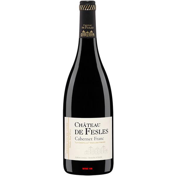 Rượu Vang Chateau De Fesles Cabernet Franc
