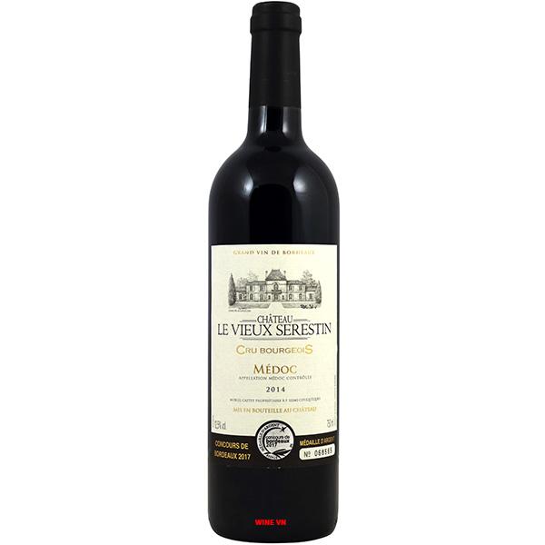 Rượu Vang Chateau Le Vieux Serestin Cru Bourgeois