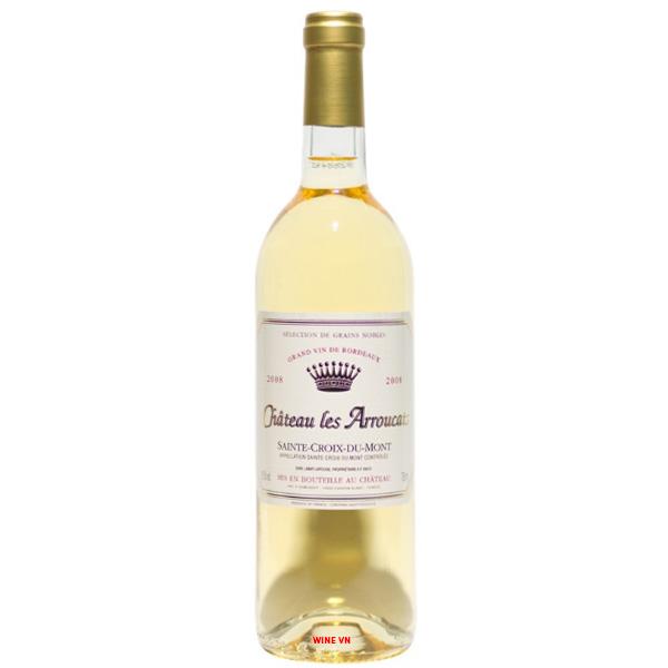 Rượu Vang Chateau Les Arroucats Sainte-Croix-Du-Mont