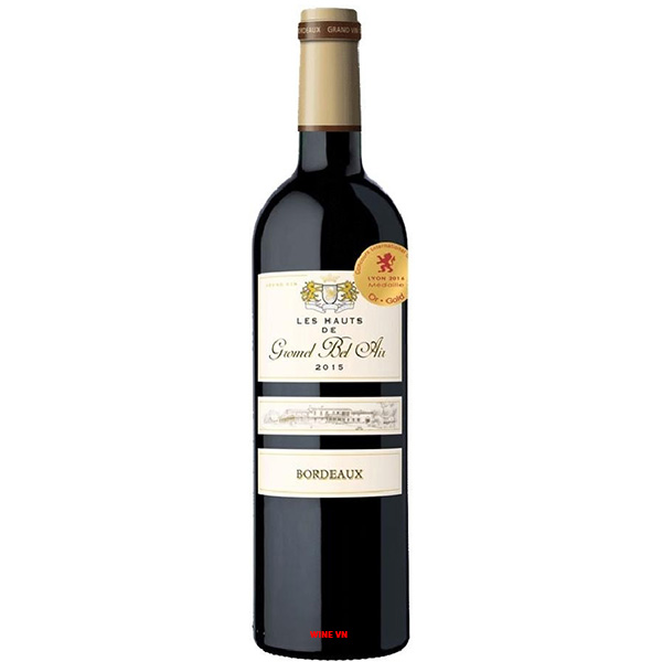 Rượu Vang Chateau Les Hauts De Gromel Bel Air
