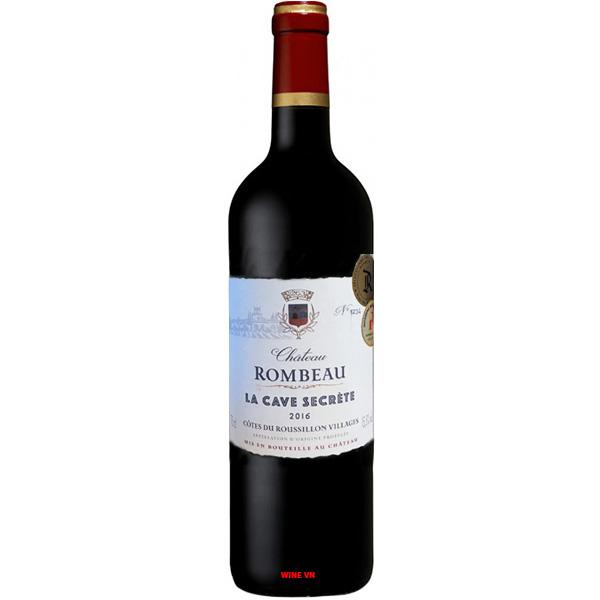 Rượu Vang Chateau Rombeau La Cave Secrete