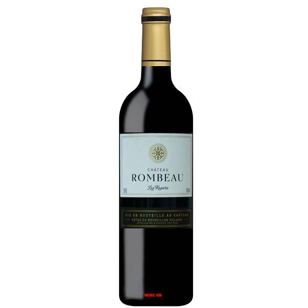Rượu Vang Chateau Rombeau Les Rosiers