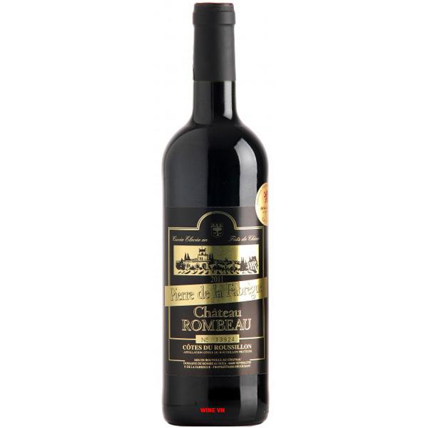 Rượu Vang Chateau Rombeau Pierre De La Fabregue