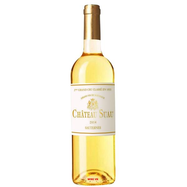 Rượu Vang Chateau Suau Sauternes