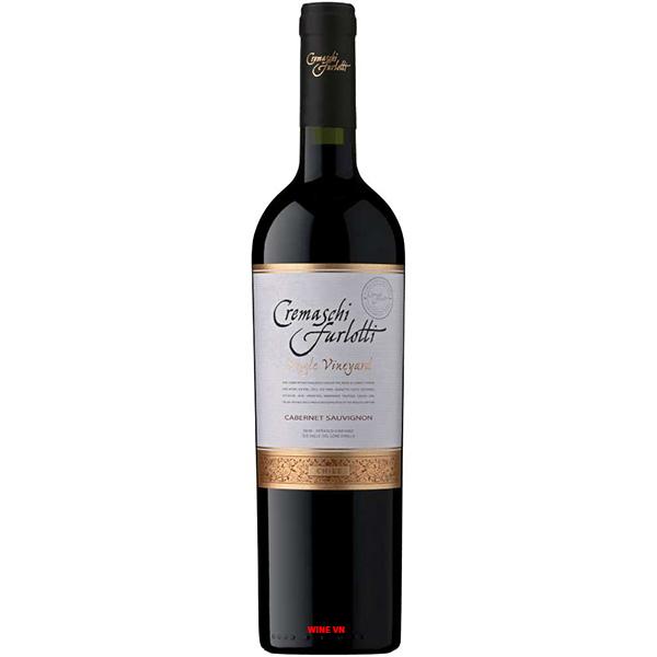 Rượu Vang Cremaschi Furlotti Cabernet Sauvignon
