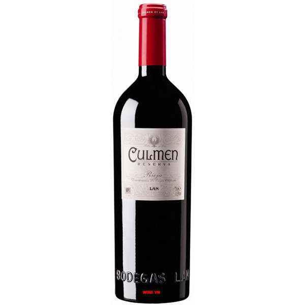 Rượu Vang Culmen Reserva Rioja