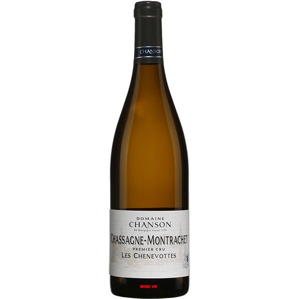 Rượu Vang Domaine Chanson Chassagne Montrachet Les Chenevottes
