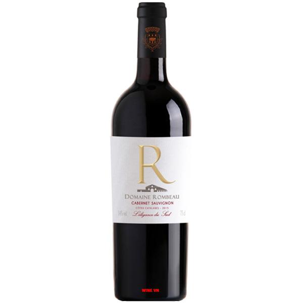 Rượu Vang Domaine Rombeau Cabernet Sauvignon
