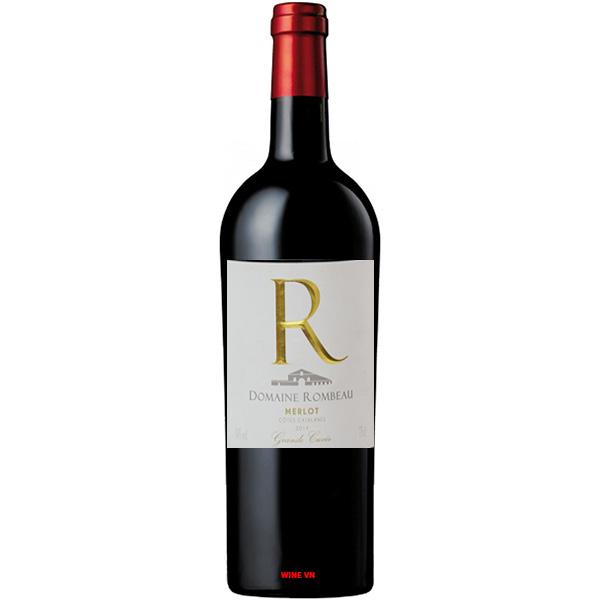 Rượu Vang Domaine Rombeau Merlot