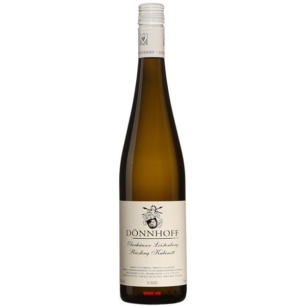 Rượu Vang Donnhoff Oberhauser Leistenberg Riesling Kabinett