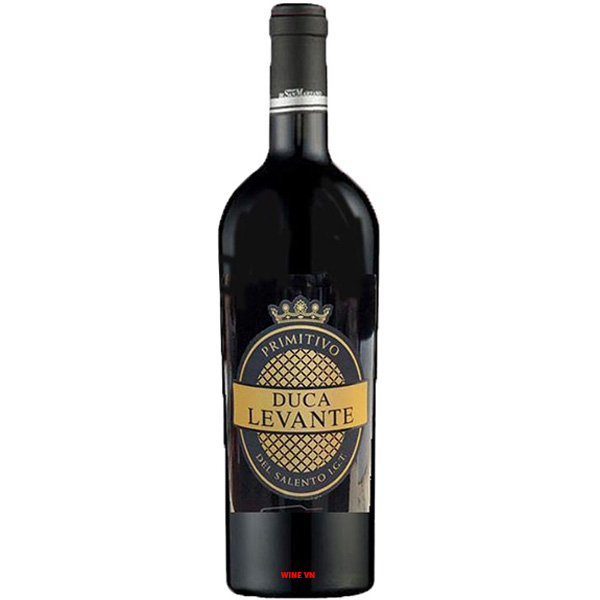 Rượu Vang Duca Levante Primitivo