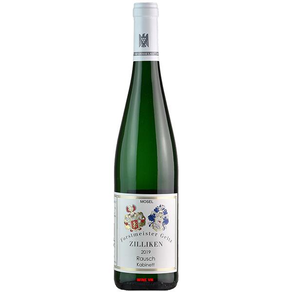 Rượu Vang Forstmeister Geltz Zilliken Rausch Kabinett