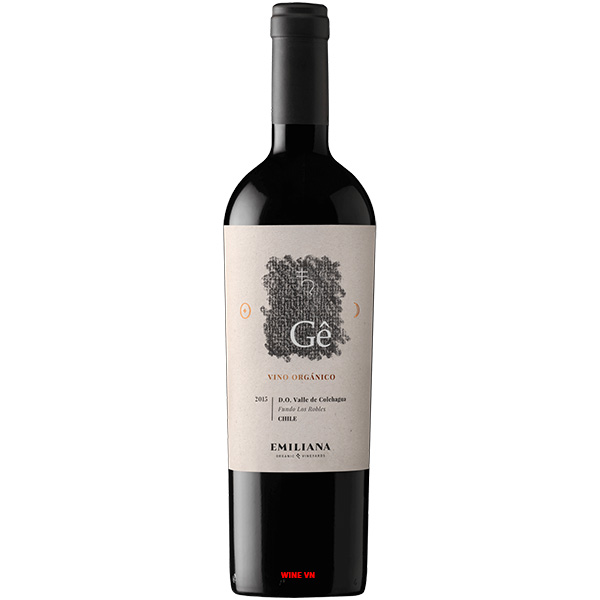 Rượu Vang GÊ Emilianna Ensamblaje