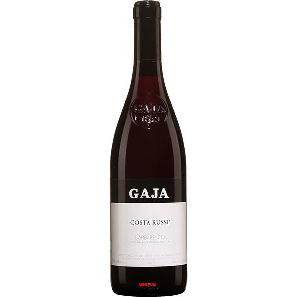 Rượu Vang Gaja Costa Russi - Barbaresco
