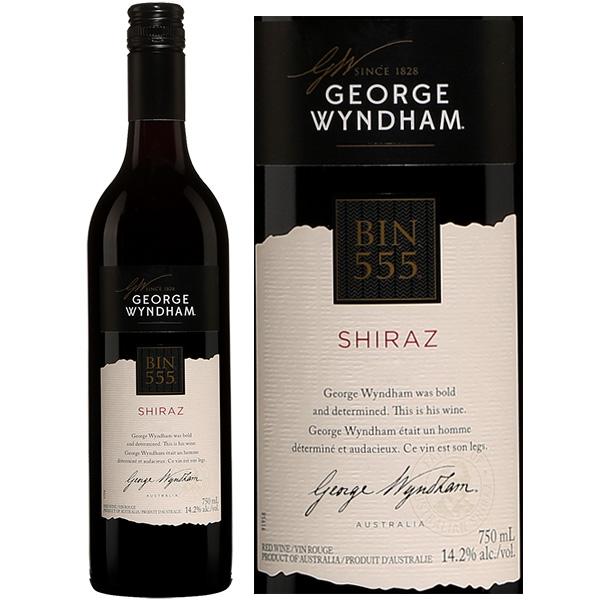 Rượu Vang George Wyndham Bin 555 Shiraz