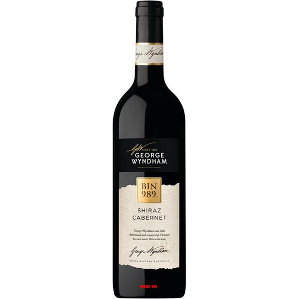 Rượu Vang George Wyndham Bin 989