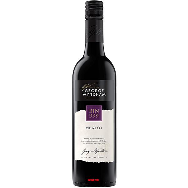 Rượu Vang George Wyndham Bin 999 Merlot
