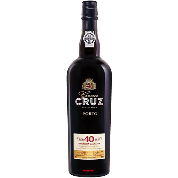 Rượu Vang Gran Cruz Porto 40 Years