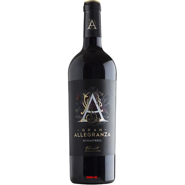 Rượu Vang Grand Allegranza Monastrell