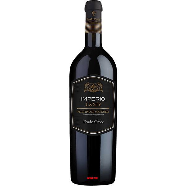 Rượu Vang Imperio LXXIV Primitivo Di Manduria