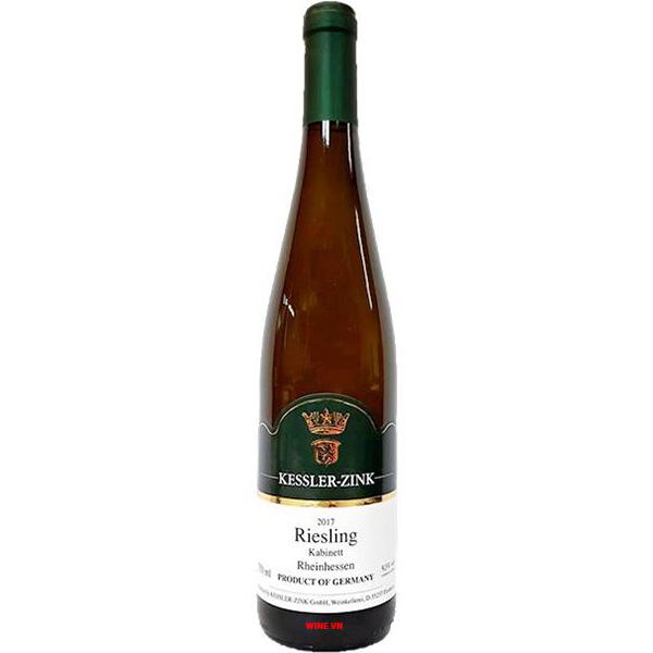 Rượu Vang Kessler Zink Kabinett Riesling Rheinhessen