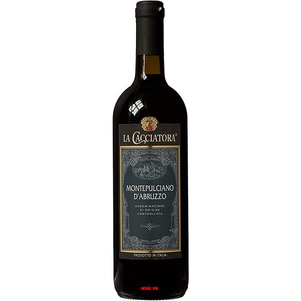Rượu Vang La Cacciatora Montepulciano