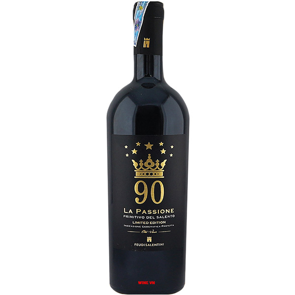 Rượu Vang La Passione 90 Primitivo Del Salento
