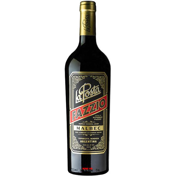 Rượu Vang La Posta Domingo Fazzio Mabec