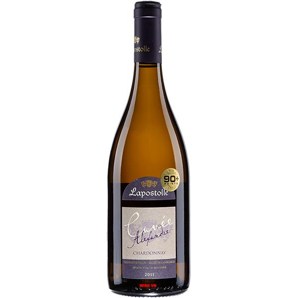 Rượu Vang Lapostolle Cuvee Alexandre Chardonnay