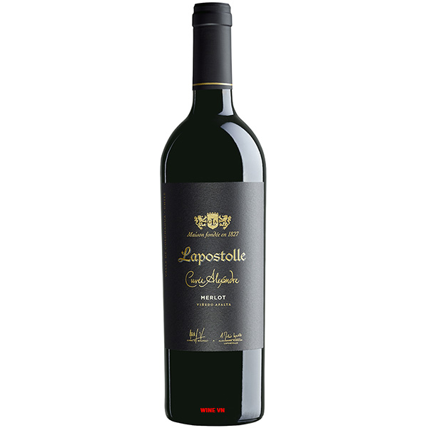 Rượu Vang Lapostolle Cuvee Alexandre Merlot