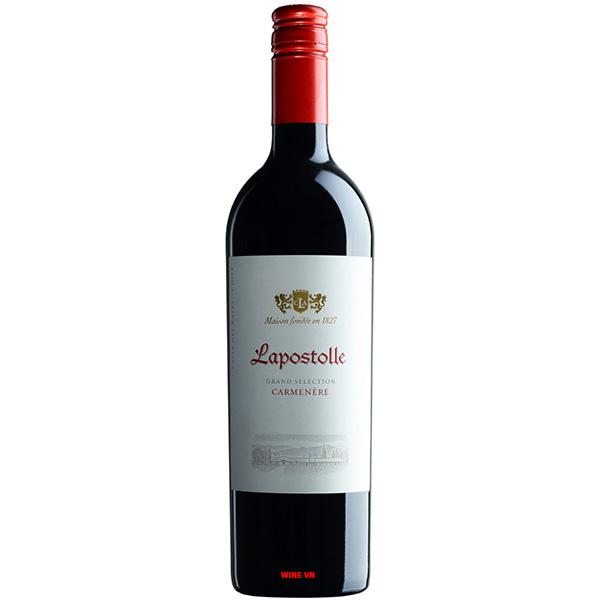 Rượu Vang Lapostolle Grand Selection Carmenere
