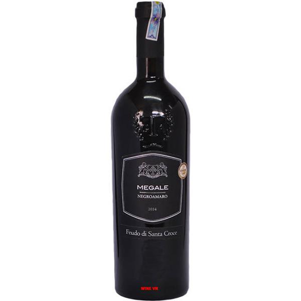 Rượu Vang Megale Negroamaro - Black