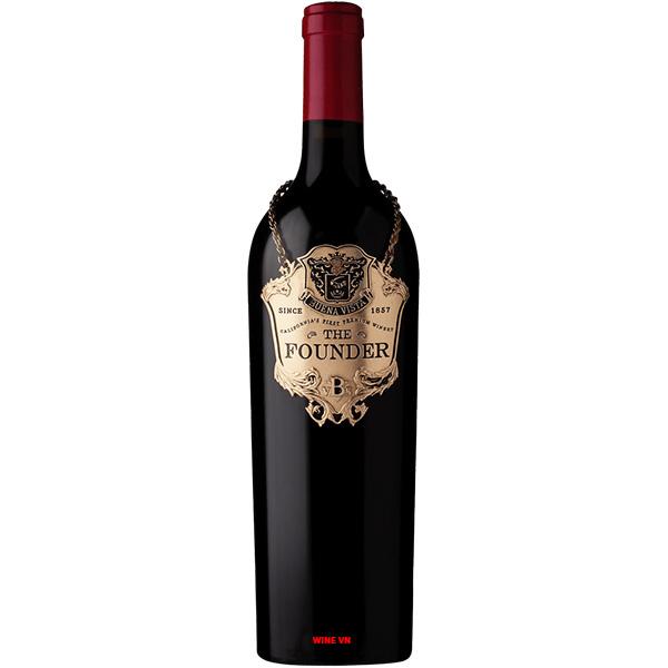 Rượu Vang Mỹ The Founder