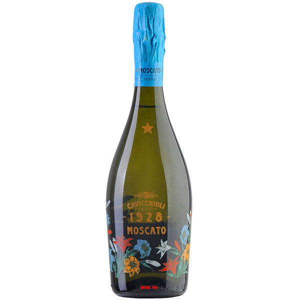 Rượu Vang Nổ Cavicchioli 1928 Moscato
