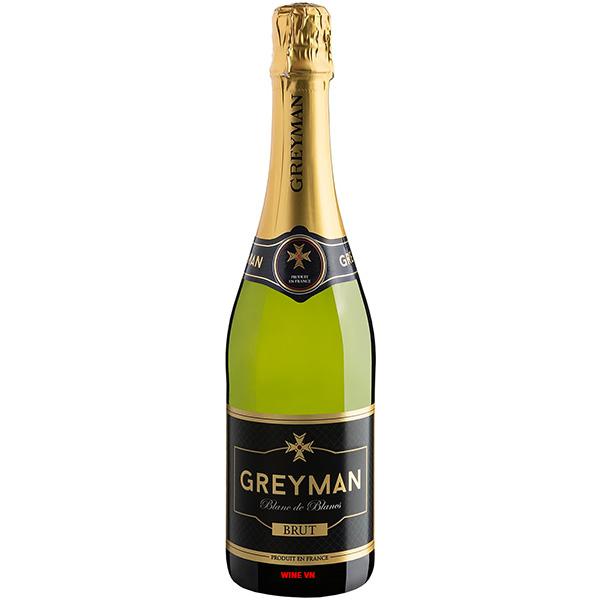 Rượu Vang Nổ Greyman Blanc De Blancs