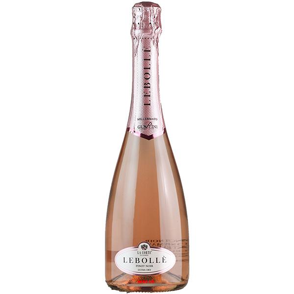Rượu Vang Nổ Lebolle Pinot Noir Rose
