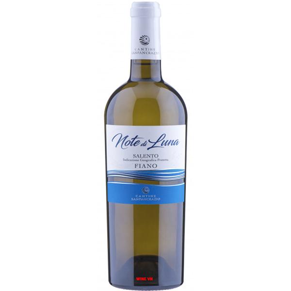 Rượu Vang Note Di Luna Salento Piano