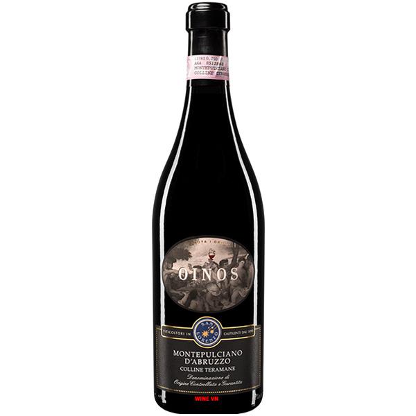 Rượu Vang Oinos Montepulciano D'Abruzzo