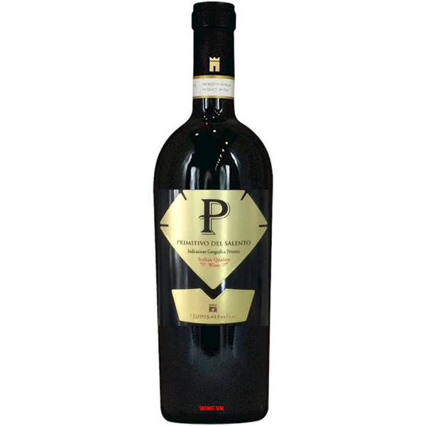 Rượu Vang P Primitivo Del Salento
