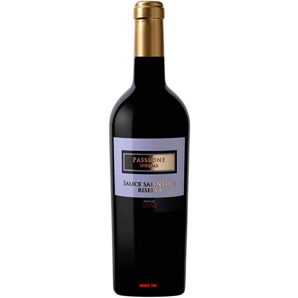 Rượu Vang Passione Speciale Salice Salentino Riserva