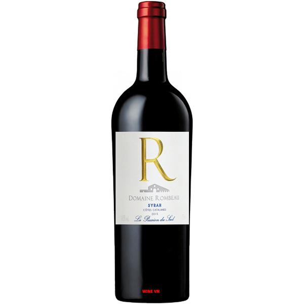 Rượu Vang Pháp Domaine Rombeau Syrah